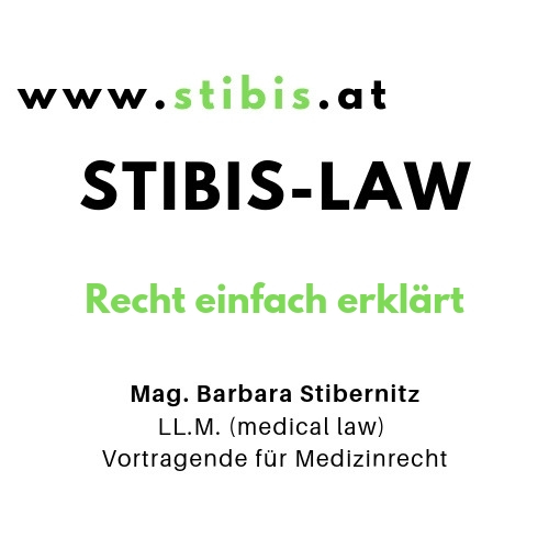 Mag. Barbara Stibernitz, LL.M. (medical law)